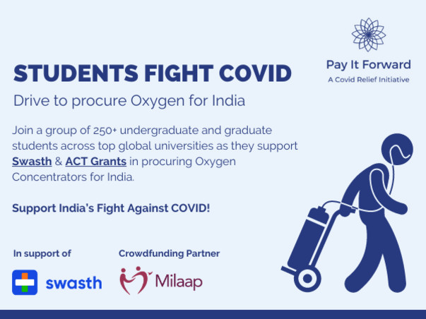 Student fundraiser to support relief efforts for India's Covid Crisis