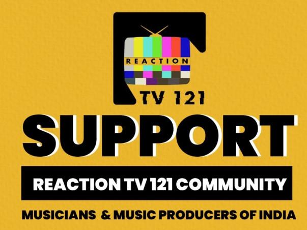 ReactionTv121 Raising Funds For Music Producer & Musicians