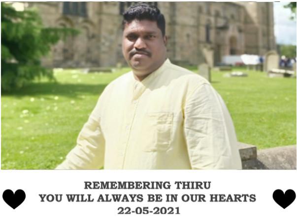 Remembering Thiru