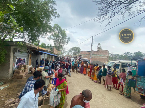 Support To Provide Help For Pandemic And Super Cyclone 'YAAS' Affected