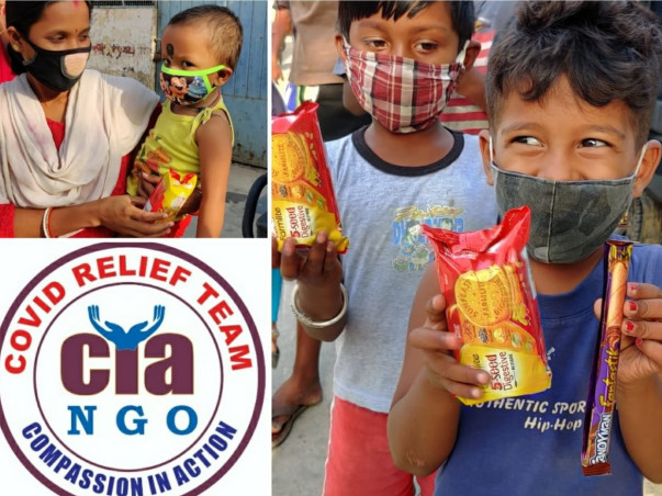 Help Compassion In Action to reach the needy with ration kits and Food