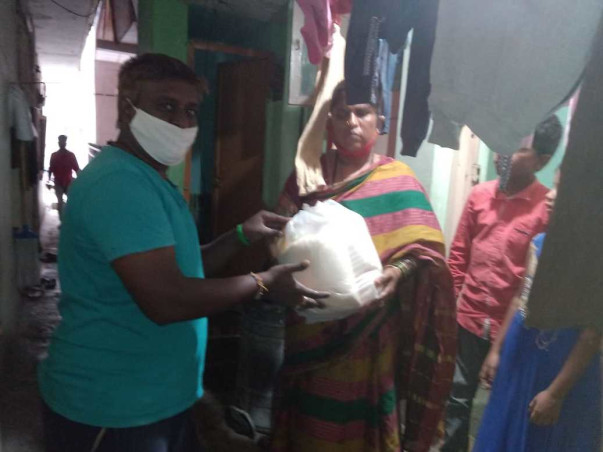 Helping Aid for Covid Affected Families