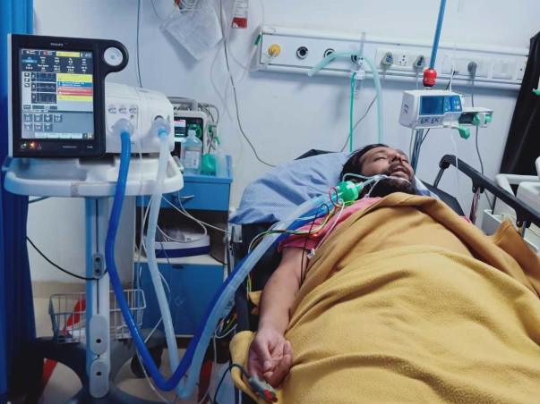 Support Swapnil To Recover From Blockage Of Air Pipe