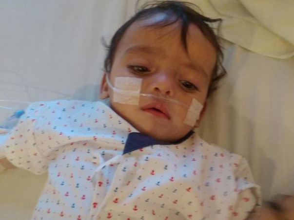 8 months old Baby of Dhanranjan Pandey needs your help Recover from Congenital Heart Disease