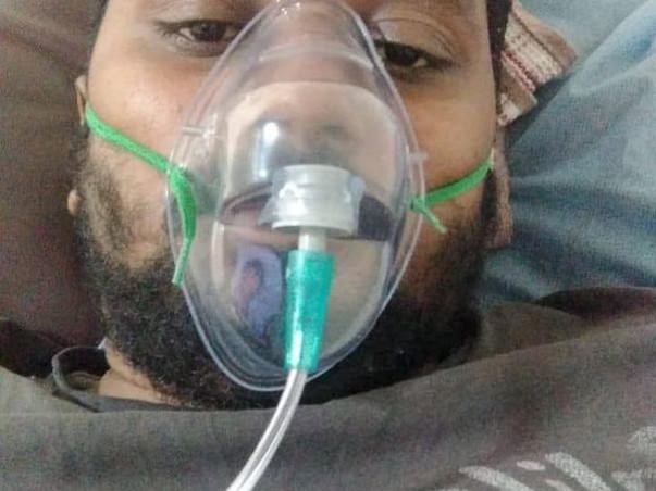 N. Sugunesh fight for lungs damage .