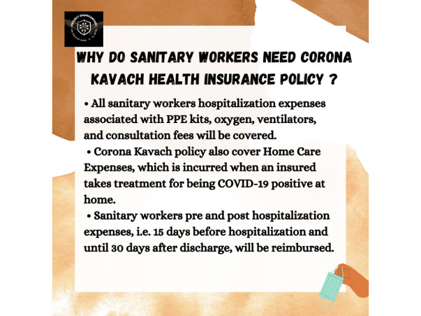 PROJECT DHANVANTARI-  Covid Relief for Sanitation Workers