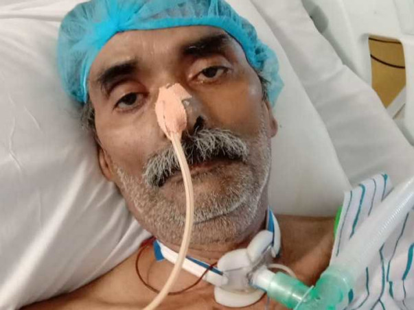 Help Ravi Kant Jha fight respiratory failure and sepsis due to covid.