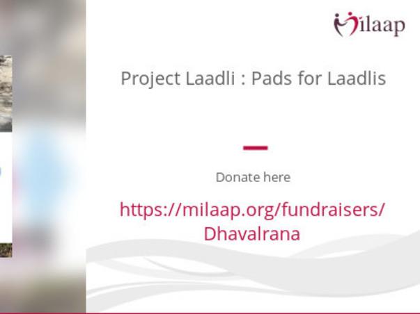 Project Laadli : Pads for Laadlis