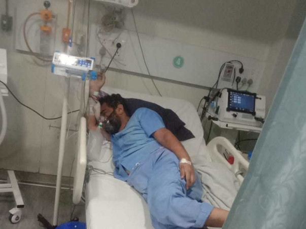 Help Yogendra Fight Covid-19 & Lungs Damage