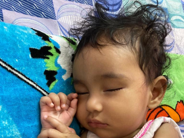 Help KHYATI fighting with Spinal Muscular Atrophy Type1 &get 16Cr drug
