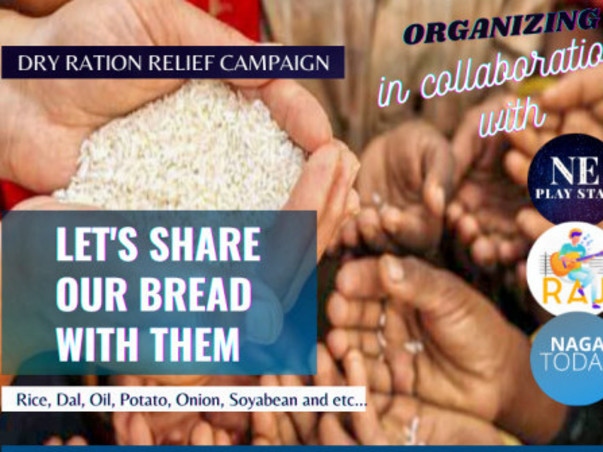 Dry Ration Charity Relief Campaign