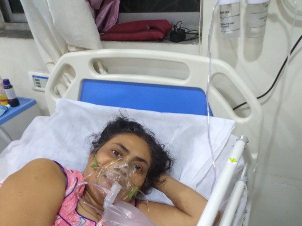 Debjani Acharya Needs Your Help Fight Post Covid Pulmonary Fibrosis