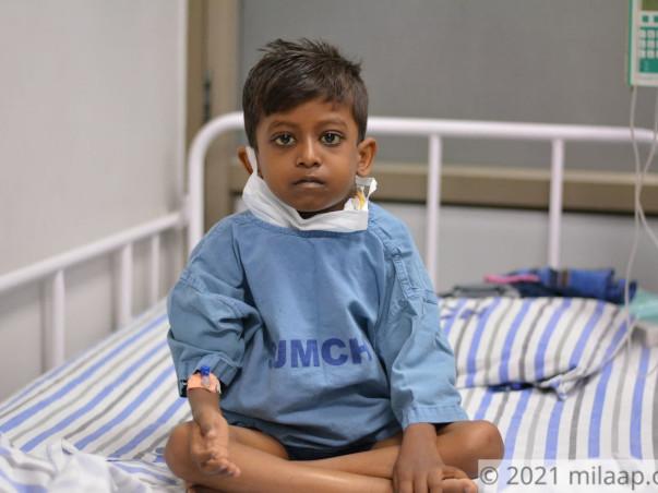 7 Years Old Nagaraj Needs Your Help Fight Classical Hodgkin's Lymphoma