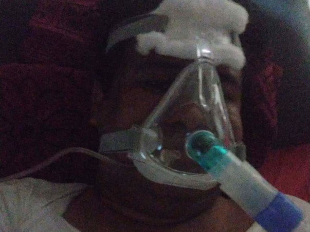 39 Years Old Lokya Needs Your Help Fight Covid+, Hosptalized