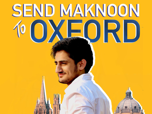 Send Maknoon To Oxford!
