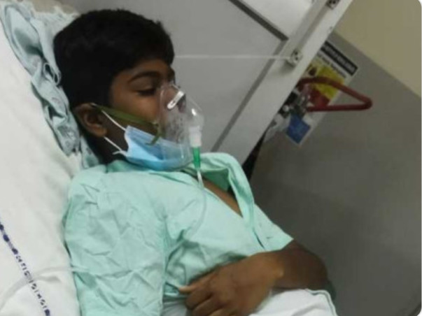 12-Year-Old Charan Needs Urgent Liver Transplant To Survive