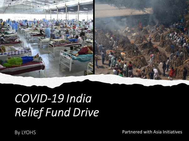 LYOHS COVID-19 INDIA RELIEF FUND DRIVE
