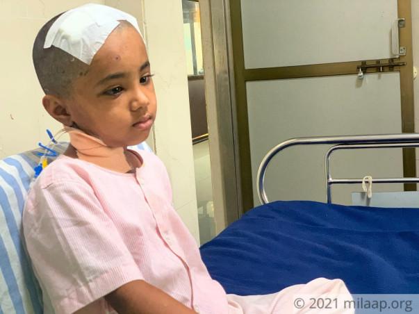 7-YO Siddhi Needs Urgent Treatment To Fight Cancerous Brain Tumour!