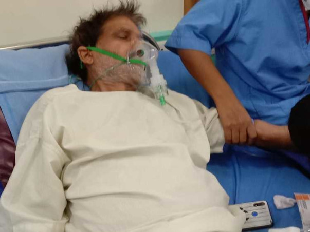 Support Devnandan Prasad Agrawal 58Yrs/O Recover From TB and pneumonia