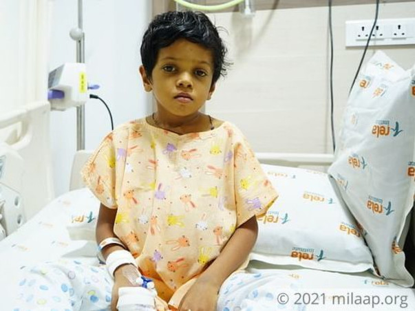 7-Year-Old With Painfully Swollen Belly Needs Urgent Liver Transplant