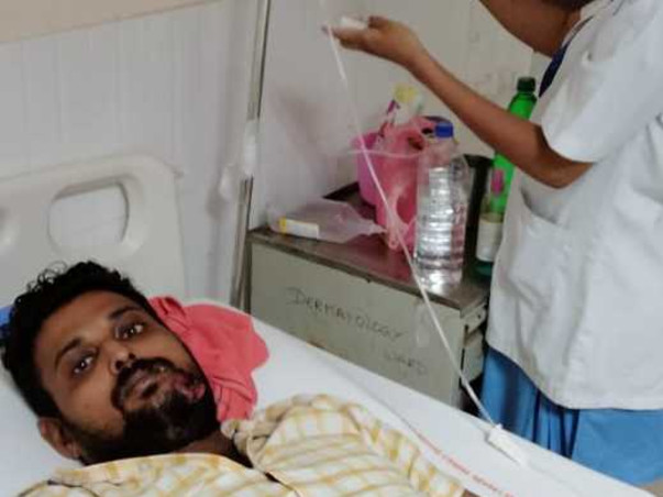 Sachikant Suffering With 2nd Stage Oral Cancer, Need Fund For Surgery