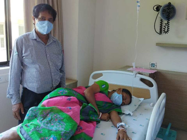 Support Jharna Ghosh To Recover From Mouth Cancer