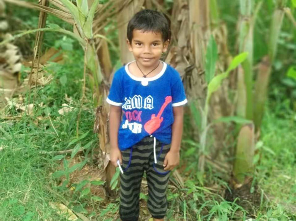 Help 7 Years old Jhanav Continue His Education
