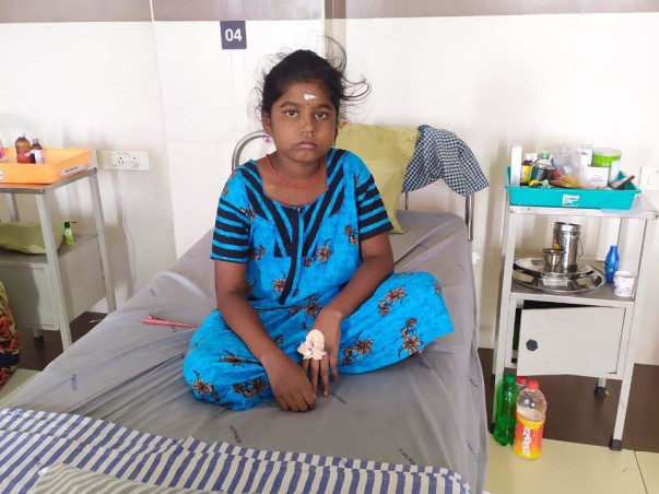 12-Year-Old Can't Bear the Excruciating Pain In Her Stomach Anymore