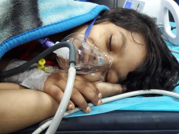 Please Support 7yrs old Rasha To Recover From Acute Mycloid Lukemia