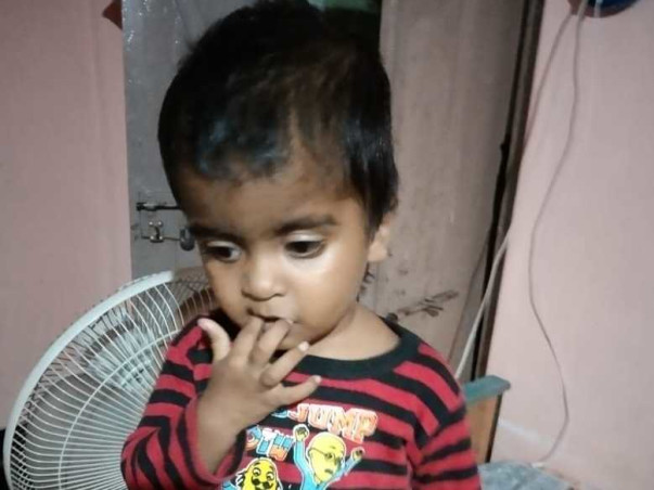 Help Baby Sathwik Raise Funds For His Heart Surgery