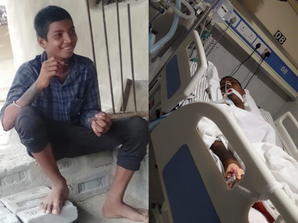 Help Ramakanta To Fight Against The Fatal Accident