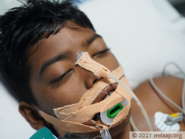 A Brain Condition Has Left Him Bedridden and Unable To Breathe