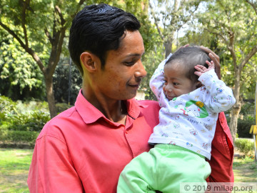 support-little-aarav